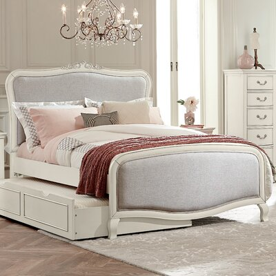 Donnie Platform Bed Finish: Antique White, Size: Full