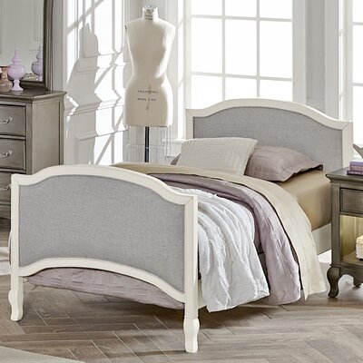 Donnie Twin Bed Size: Twin, Finish: Antique White
