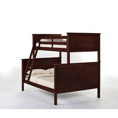 Lyric Twin over Full Bunk Bed Finish: Cherry