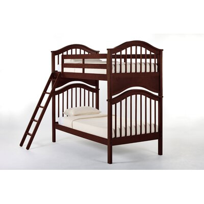 Lyric Bunk Bed Size: Full/Full, Finish: White