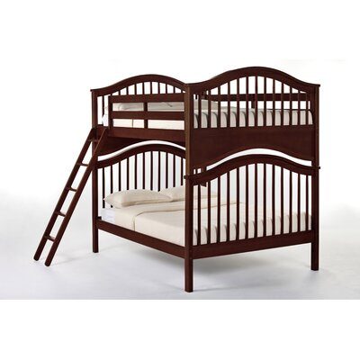 Lyric Bunk Bed Size: Full/Full, Color: Cherry