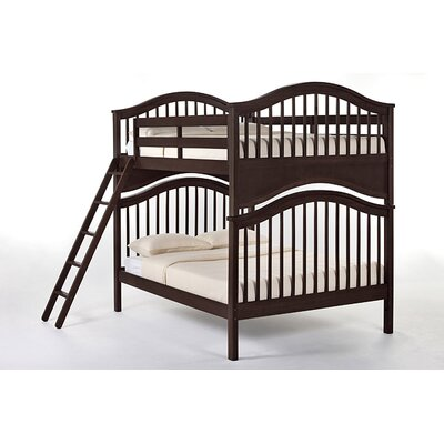 Lyric Bunk Bed Size: Full/Full, Color: Chocolate