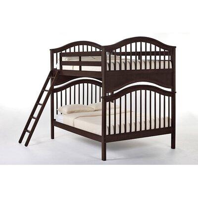 Lyric Bunk Bed Size: Full/Full, Finish: Chocolate