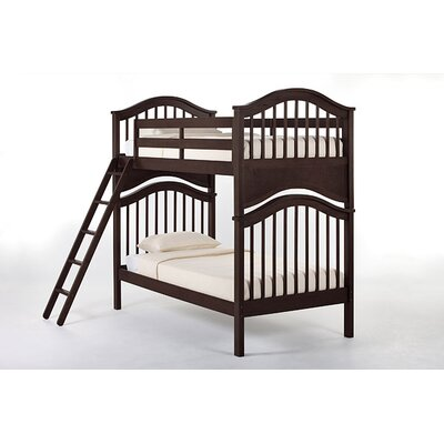 Lyric Bunk Bed Size: Twin/Twin, Finish: Chocolate