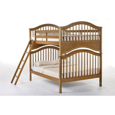 Lyric Bunk Bed Size: Full/Full, Finish: Pecan