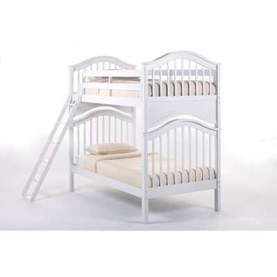 Lyric Bunk Bed Size: Twin/Twin, Color: White