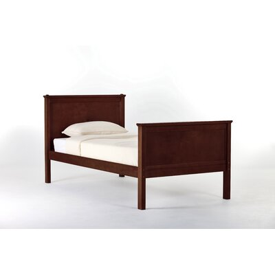 Lyric Panel Bed Size: Twin, Finish: Cherry