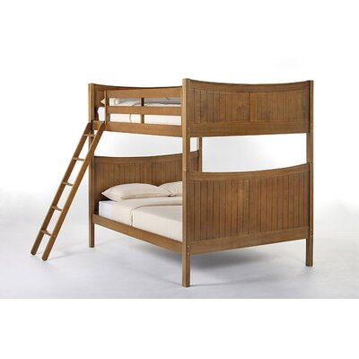 Lyric Traditional Bunk Bed Size: Full, Finish: Pecan