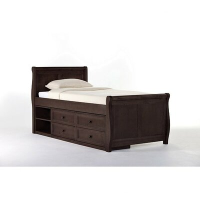 Javin Platform Bed Finish: Chocolate