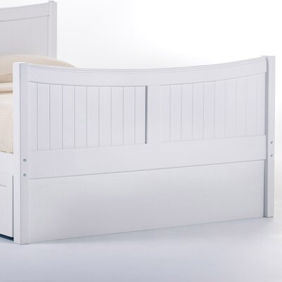 Lyric Privacy Panel Size: Twin, Finish: White