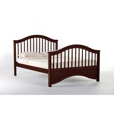 Lyric Slat Bed Size: Full, Color: Cherry