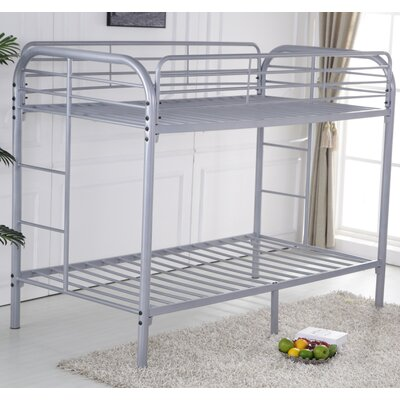 Shiloh Twin Bunk bed Color: Gray