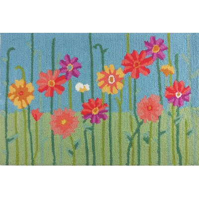 Valentine Meadow Flowers Rug