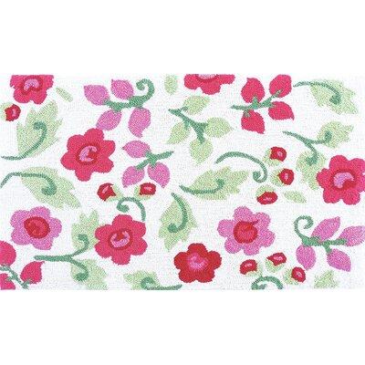 Valentine Posies Pink Area Rug