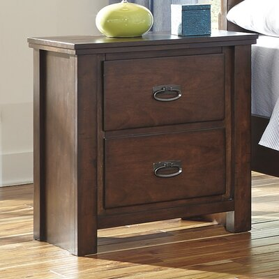 Mona 2 Drawer Nightstand
