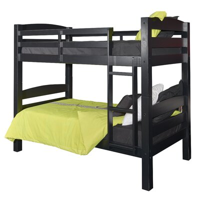 Jailyn Twin Bunk Bed Finish: Black