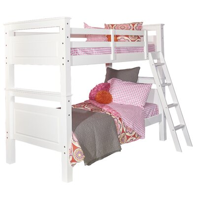 Jalyn Twin Bunk Bed Finish: White