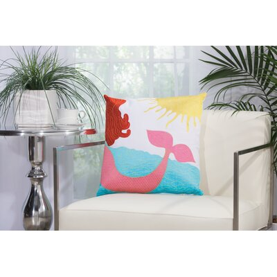 Alexandria Mermaid Throw Pillow