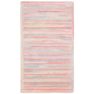Melanie Pink Area Rug Rug Size: Concentric Square 3