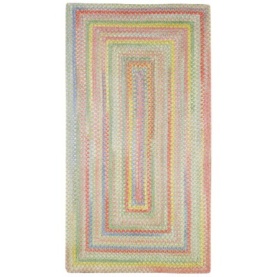 Melanie Beige/Pink Area Rug Rug Size: Rectangle 92 x 132