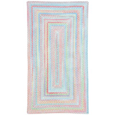 Melanie Kids Blue Area Rug Rug Size: Concentric Square 96
