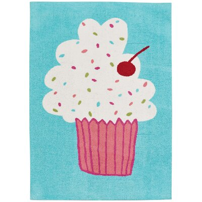 Daisy Confectionary Cake Pops Machine Tufted Area Rug Rug Size: 2 x 3
