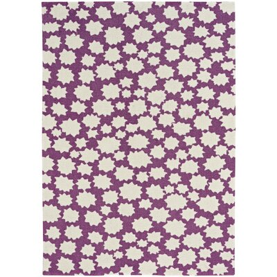 Daisy Sky Heavenly Machine Woven Purple Area Rug Rug Size: 2 x 3