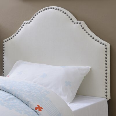 Carly Upholstered Panel Headboard Upholstery: Ivory, Size: Twin