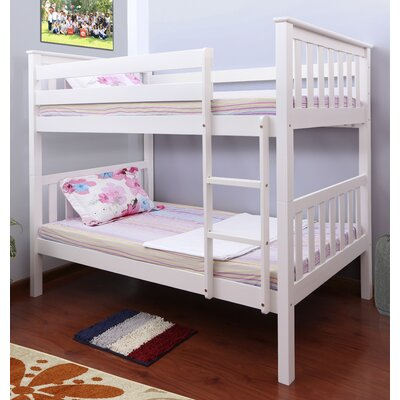 Owen Twin Bunk Bed Finish: White