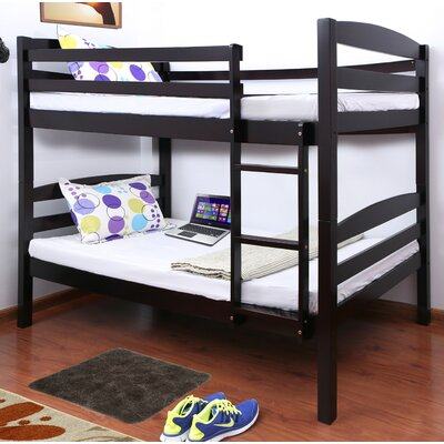 Connor Twin Bunk Bed Finish: Cappuccino