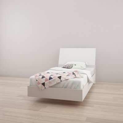 Marcheline Twin Platform Bed Finish: White