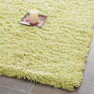 Ariel Lime Area Rug Rug Size: Rectangle 86 x 116