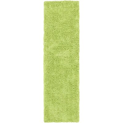 Ariel Lime Area Rug Rug Size: Runner 23 x 8