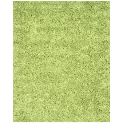 Ariel Lime Area Rug Rug Size: Rectangle 76 x 96