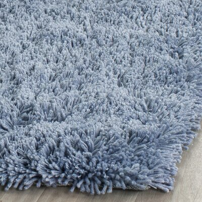 Ariel Light Blue Area Rug Rug Size: Rectangle 4 x 6
