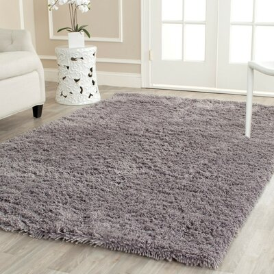 Ariel Gray Area Rug Rug Size: Rectangle 2'6