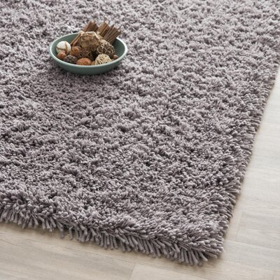Ariel Gray Area Rug Rug Size: Rectangle 5' x 8'
