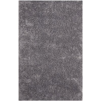 Ariel Gray Area Rug Rug Size: Rectangle 6 x 9