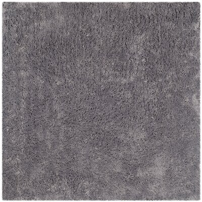 Ariel Gray Area Rug Rug Size: Square 7