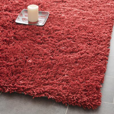 Ariel Rust Area Rug Rug Size: Rectangle 5 x 8