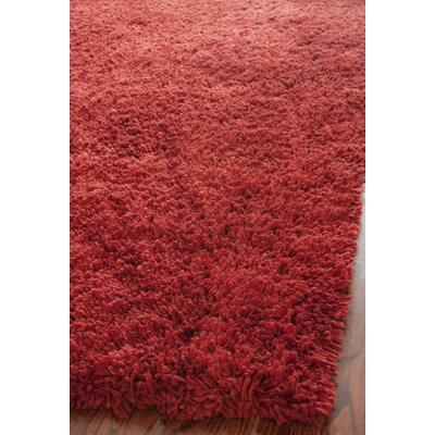 Ariel Rust Area Rug Rug Size: Rectangle 6 x 9