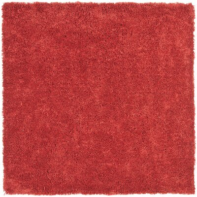 Ariel Rust Area Rug Rug Size: Square 7