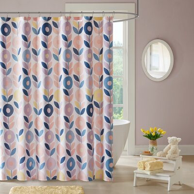 Brenda 100% Cotton Shower Curtain