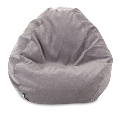 Micro Velvet Bean Bag Chair Color: Vintage