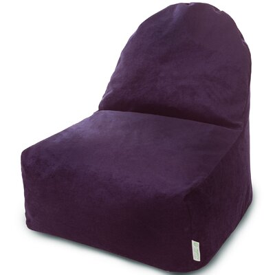 Classic Bean Bag Lounger Upholstery: Aubergine