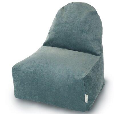Classic Bean Bag Lounger Upholstery: Azure