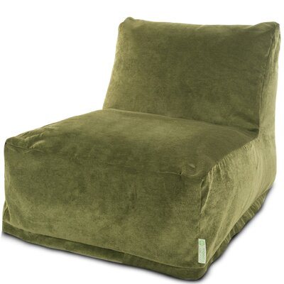 Zipped Bean Bag Lounger Upholstery: Fern