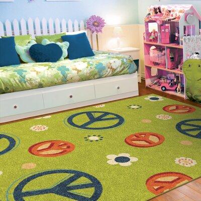 Lakisha Green/Blue Area Rug Rug Size: 310 x 55