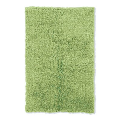 Kathleen Hand-Woven Lime Kids Rug Rug Size: Rectangle 36 x 56