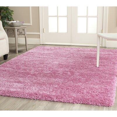 Ariel Pink Indoor Area Rug Rug Size: Runner 23 x 117